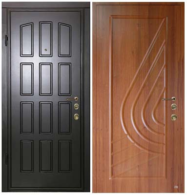 Металлические входные двери: преимущества