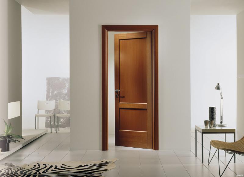 Межкомнатная дверь — самостоятельный компонент декора или пятно в цвете