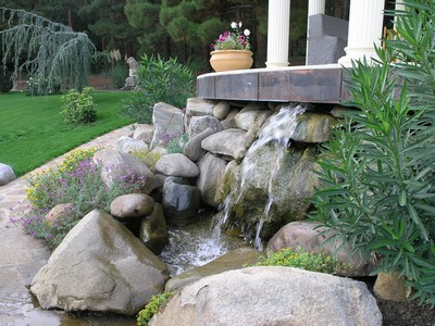 Выбор камней для сада